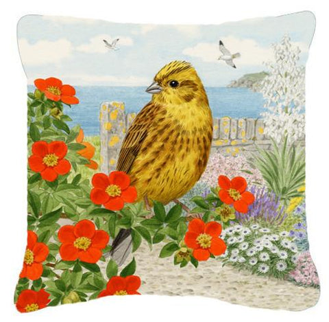 Buy this Yellowhammer by Sarah Adams Canvas Decorative Pillow ASAD0695PW1414