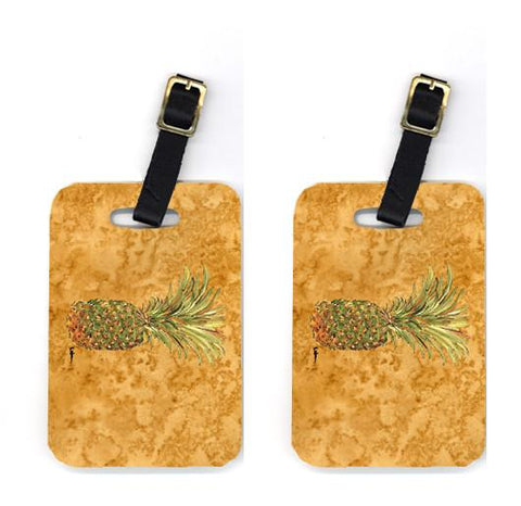Buy this Pair of Pineapple Luggage Tags