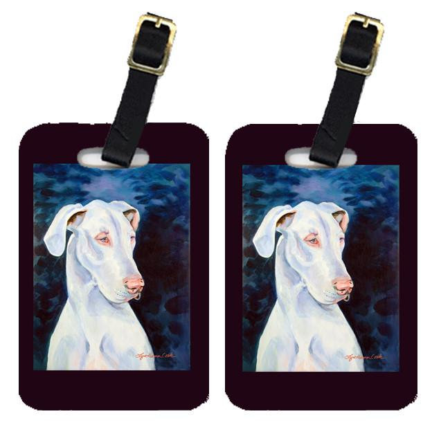 Pair of 2 Great Dane Luggage Tags by Caroline's Treasures