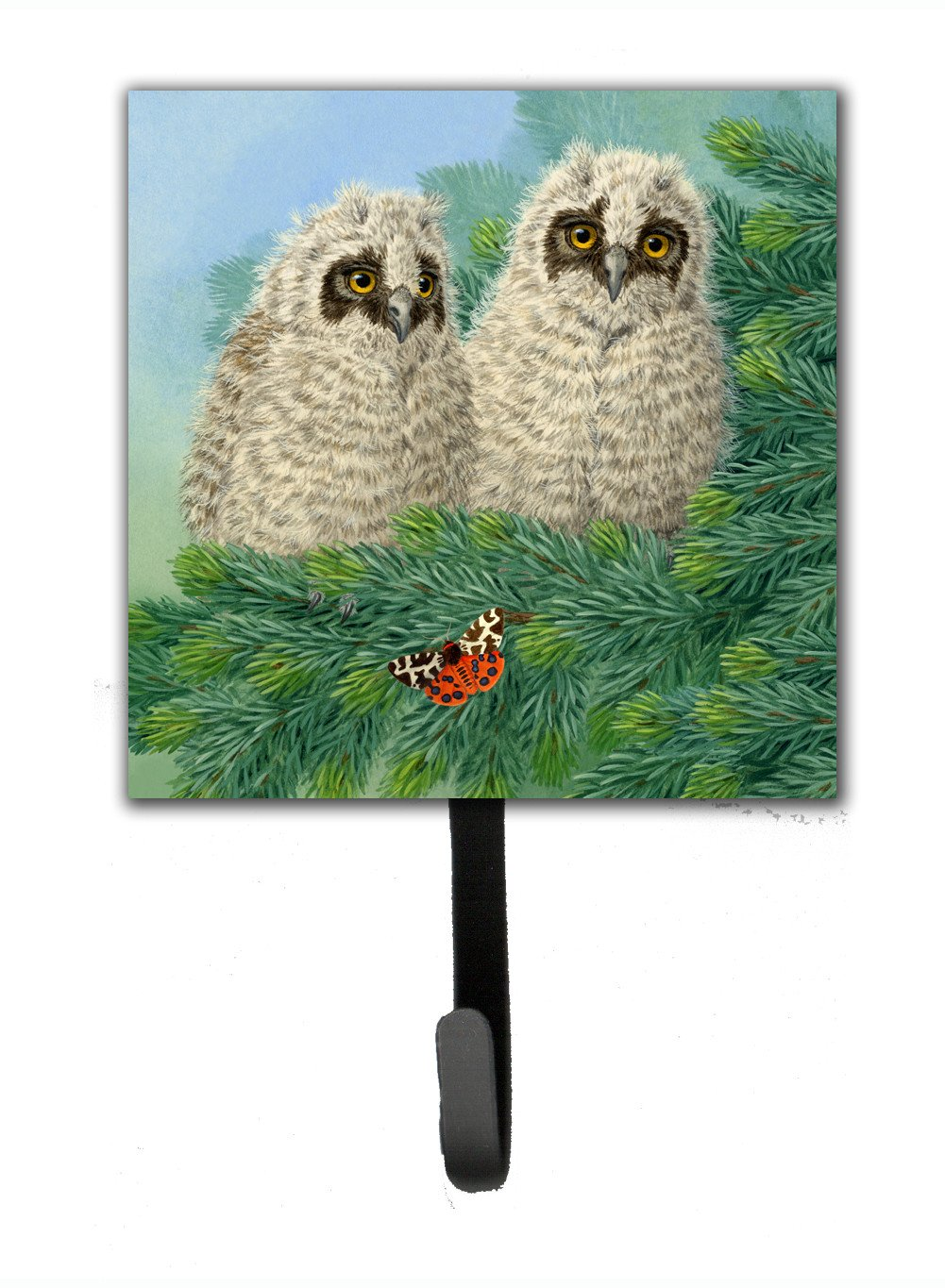 Buy this Owlets and Butterfly by Sarah Adams Leash or Key Holder ASAD0724SH4