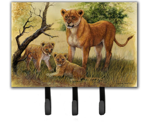 Buy this Lion and Cubs by Daphne Baxter Leash or Key Holder BDBA0307TH68