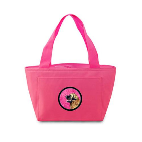 Buy this Pink Leonberger  Lunch Bag or Doggie Bag LH9393PK