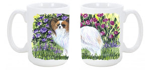 Buy this Papillon Dishwasher Safe Microwavable Ceramic Coffee Mug 15 ounce SS8153CM15