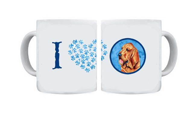 Bloodhound  Dishwasher Safe Microwavable Ceramic Coffee Mug 15 ounce by Caroline's Treasures