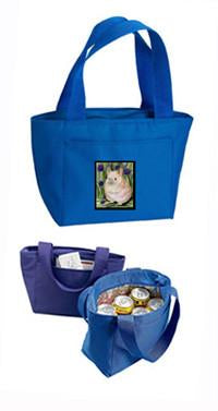 Buy this Blue Chinchilla Lunch Bag or Doggie Bag SS8206