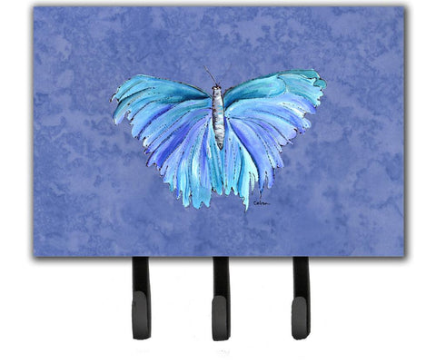 Buy this Butterfly on Slate Blue Leash or Key Holder