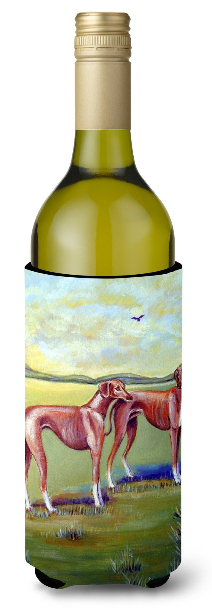 Azawakh Hound Wine Bottle Beverage Insulator Beverage Insulator Hugger by Caroline's Treasures