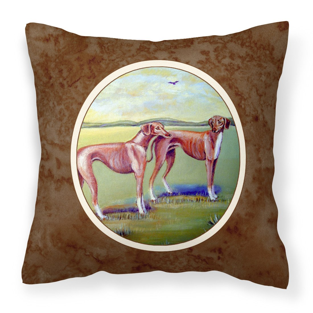 Buy this Azawakh Hound Fabric Decorative Pillow 7001PW1414