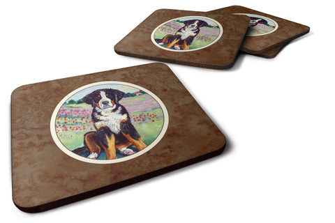 Buy this Bernese Mountain Dog Foam Coaster Set of 4 7011FC