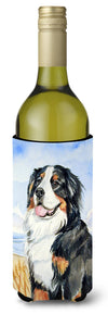 Momma's Love Bernese Mountain Dog Wine Bottle Beverage Insulator Beverage Insulator Hugger by Caroline's Treasures