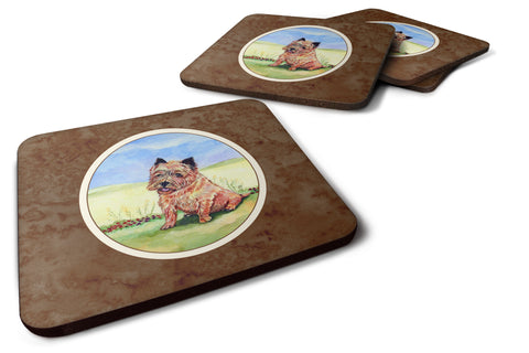 Buy this Cairn Terrier and the Chipmunk Foam Coaster Set of 4 7017FC