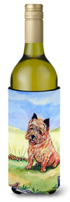 Cairn Terrier and the Chipmunk Wine Bottle Beverage Insulator Beverage Insulator Hugger by Caroline's Treasures
