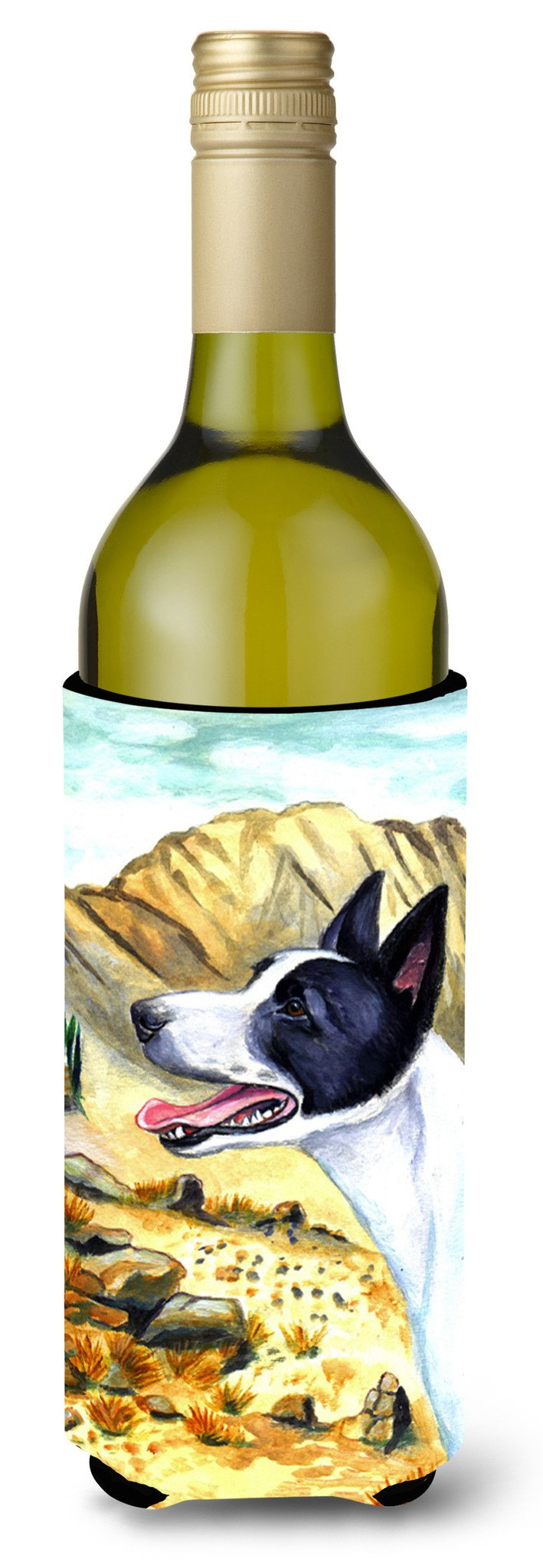 Canaan Dog Wine Bottle Beverage Insulator Beverage Insulator Hugger by Caroline's Treasures