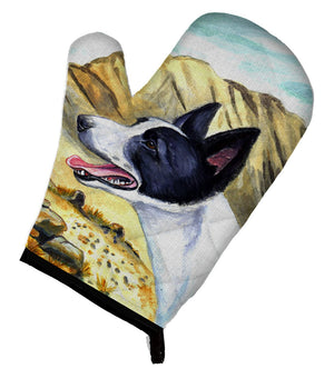 Canaan Dog Oven Mitt 7018OVMT - the-store.com