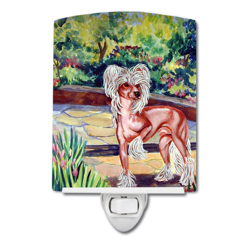 Buy this Chinese Crested on the Patio Ceramic Night Light 7021CNL