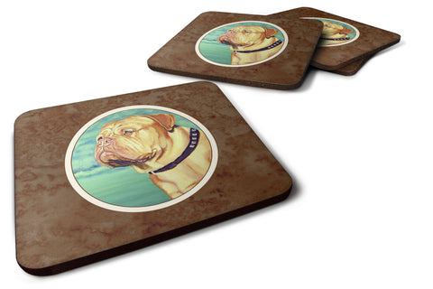 Buy this Dogue de Bordeaux Foam Coaster Set of 4 7024FC