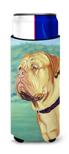 Dogue de Bordeaux Ultra Beverage Insulators for slim cans 7024MUK by Caroline's Treasures