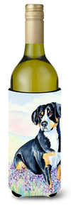 Entlebucher Mountain Dog Wine Bottle Beverage Insulator Beverage Insulator Hugger by Caroline's Treasures