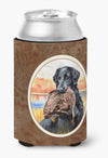 Flat Coated Retriever Can or Bottle Hugger 7032CC by Caroline's Treasures