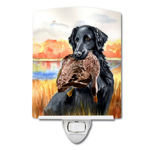 Buy this Flat Coated Retriever Ceramic Night Light 7032CNL