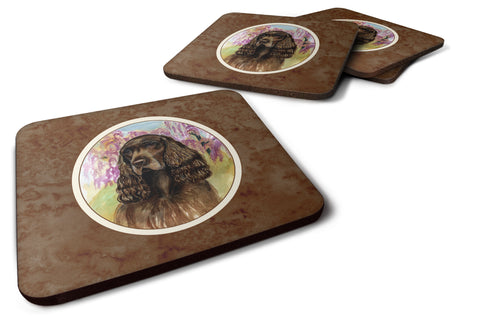 Buy this Field Spaniel Foam Coaster Set of 4 7033FC