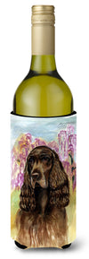 Field Spaniel Wine Bottle Beverage Insulator Beverage Insulator Hugger by Caroline's Treasures
