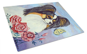 Buy this Papillon with Butterfly Glass Cutting Board Large