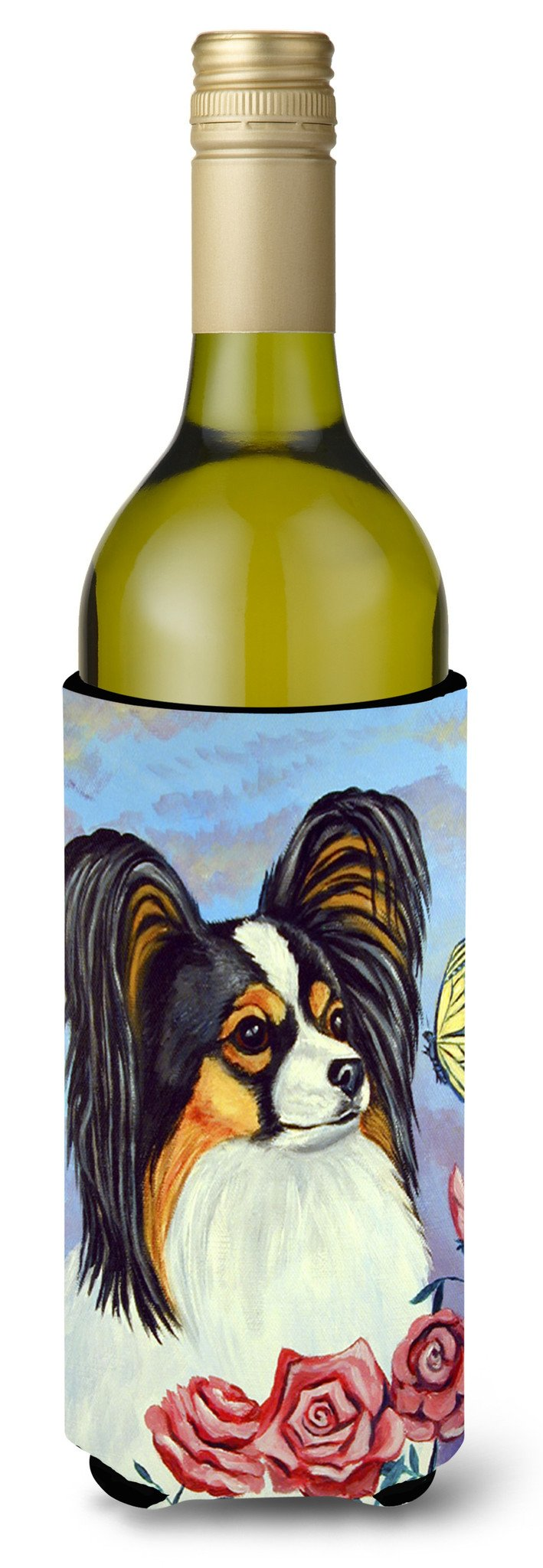 Buy this Papillon Yellow Butterfly Wine Bottle Beverage Insulator Beverage Insulator Hugger