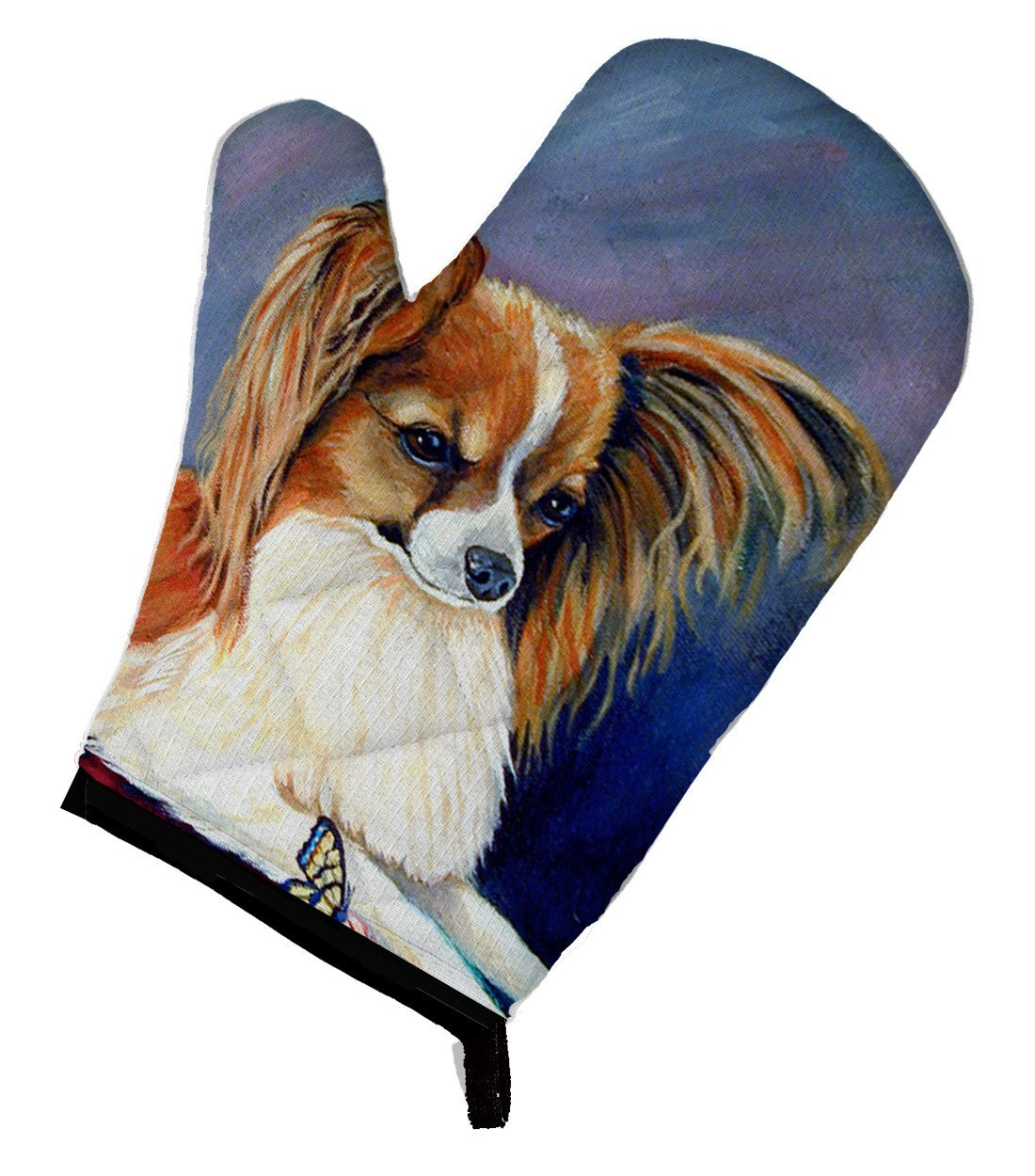 Buy this Papillon Rose and Butterfly Oven Mitt 7038OVMT
