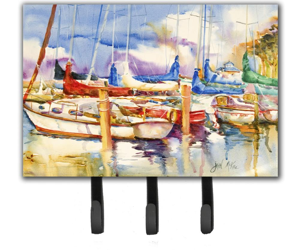 Run Away Sailboats Leash or Key Holder JMK1072TH68 by Caroline's Treasures
