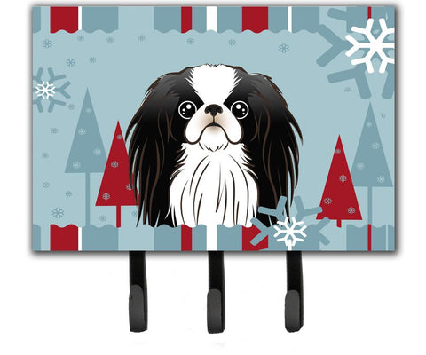 Buy this Winter Holiday Japanese Chin Leash or Key Holder BB1726TH68