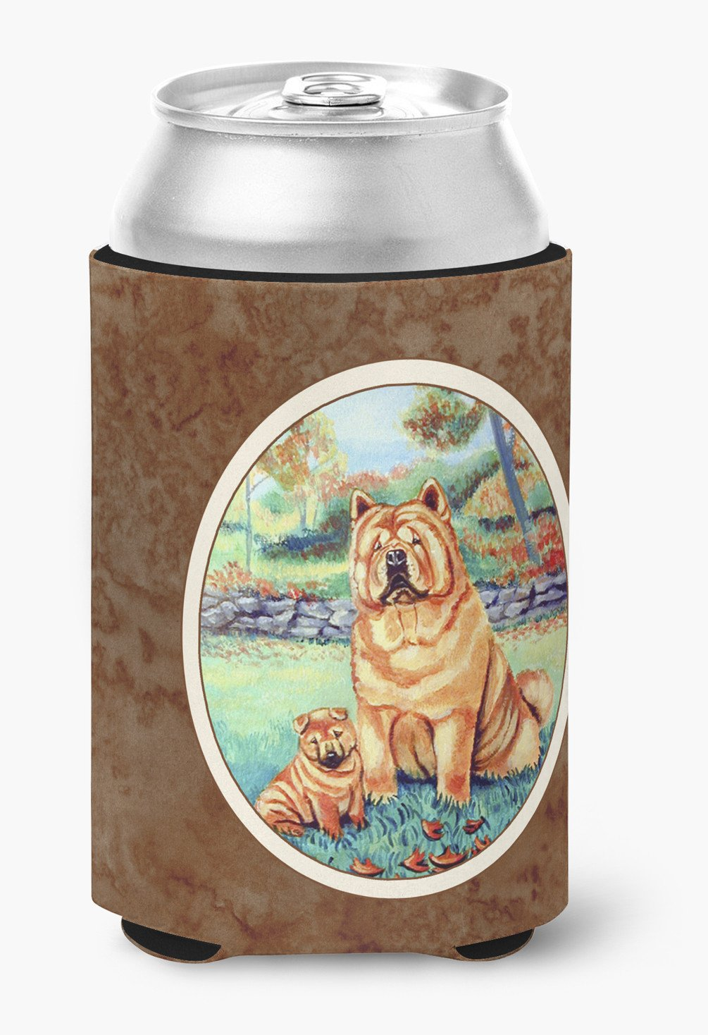 Chow Chow Momma's Love Can or Bottle Hugger 7057CC by Caroline's Treasures
