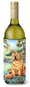 Chow Chow Momma's Love Wine Bottle Beverage Insulator Beverage Insulator Hugger - the-store.com
