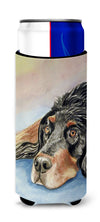 Gordon Setter Waiting on Mom Ultra Beverage Insulators for slim cans 7062MUK by Caroline's Treasures
