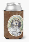English Setter Patience Can or Bottle Hugger 7065CC by Caroline's Treasures