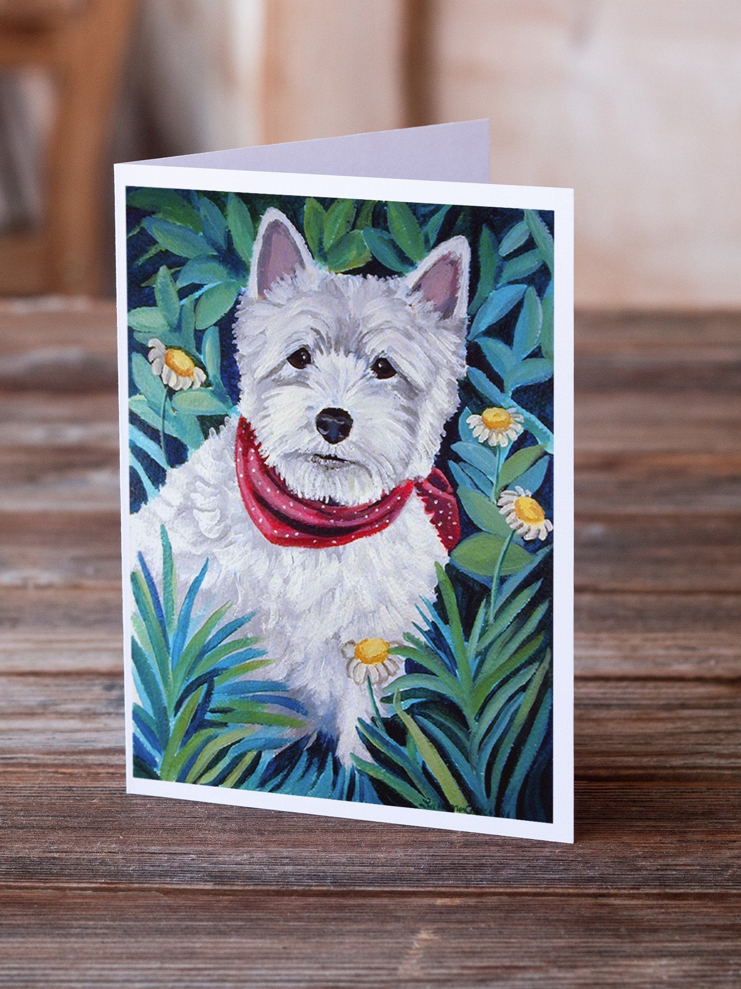 Buy this Westie Greeting Cards and Envelopes Pack of 8