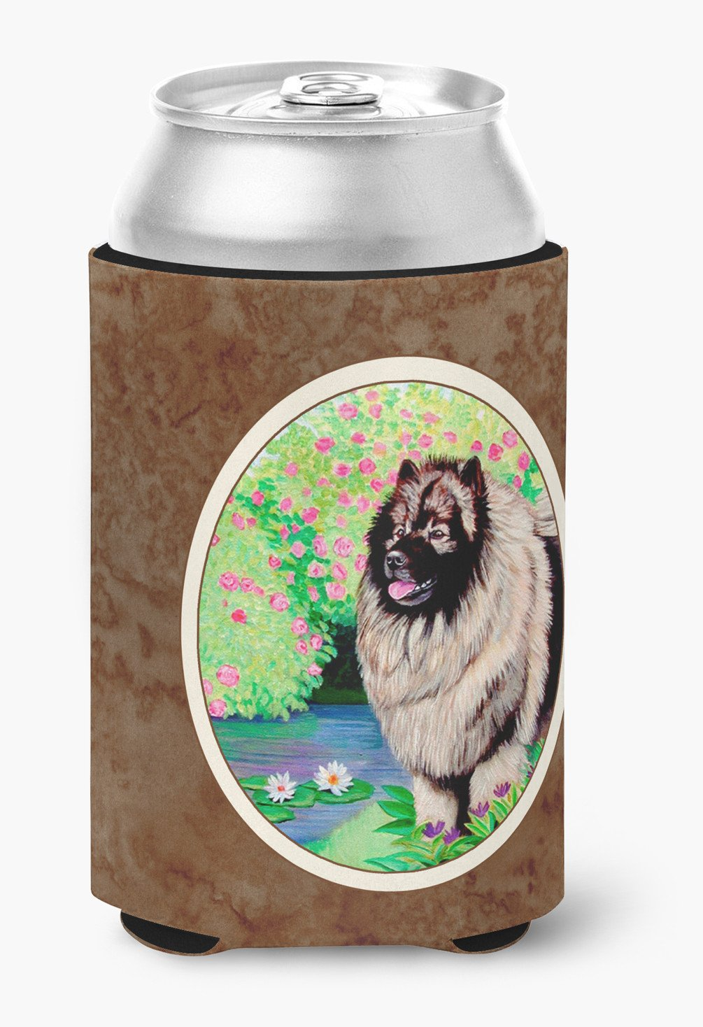 Keeshond Can or Bottle Hugger 7074CC by Caroline's Treasures