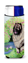 Keeshond Ultra Beverage Insulators for slim cans 7074MUK by Caroline's Treasures