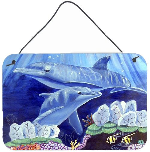 Buy this Dolphin under the sea Aluminium Metal Wall or Door Hanging Prints