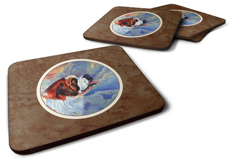 Buy this Saint Bernard Loyalty Foam Coaster Set of 4 7085FC