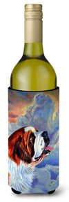 Buy this Saint Bernard Loyalty Wine Bottle Beverage Insulator Beverage Insulator Hugger