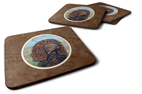 Buy this Irish Water Spaniel Foam Coaster Set of 4 7089FC