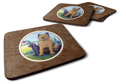 Buy this Briard Foam Coaster Set of 4 7092FC