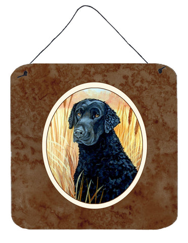 Buy this Curly Coated Retriever Wall or Door Hanging Prints 7097DS66