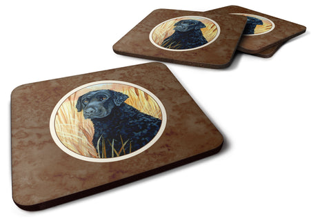 Buy this Curly Coated Retriever Foam Coaster Set of 4 7097FC