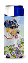 Jack Russell Terrier Ultra Beverage Insulators for slim cans 7106MUK by Caroline's Treasures
