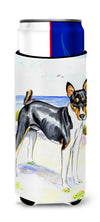 Basenji Ultra Beverage Insulators for slim cans 7109MUK by Caroline's Treasures