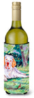 Clumber Spaniel Wine Bottle Beverage Insulator Beverage Insulator Hugger by Caroline's Treasures
