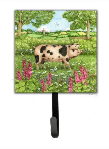 Buy this Pigs Meadowsweet by Debbie Cook Leash or Key Holder CDCO0371SH4