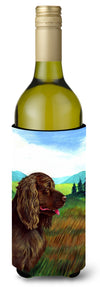 Sussex Spaniel Wine Bottle Beverage Insulator Beverage Insulator Hugger by Caroline's Treasures